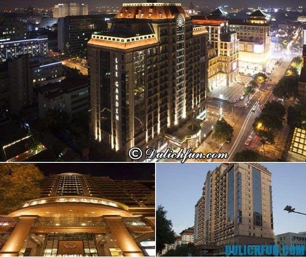 Khách sạn cao cấp sang trọng ở Bắc Kinh. Top khách sạn đẹp ở Bắc Kinh. Du lịch Bắc Kinh nên ở khách sạn nào?