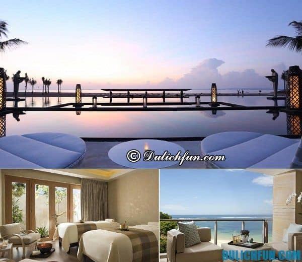 Kinh nghiệm du lịch Bali - Nơi lưu trú tại Bali. Khách sạn cao cấp, sang trọng ở Bali.