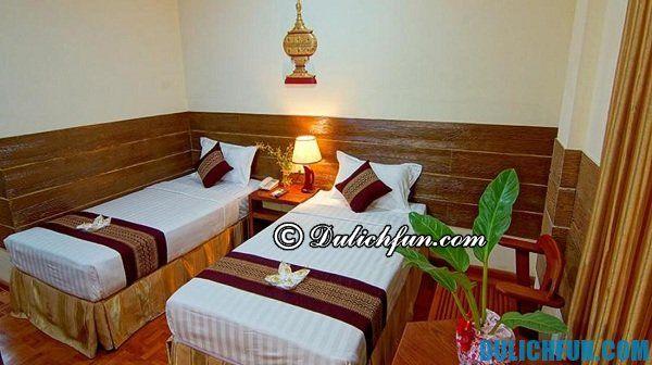 Giá thuê nhà nghỉ, khách sạn ở Myanmar. Chi phí du lịch Myanmar