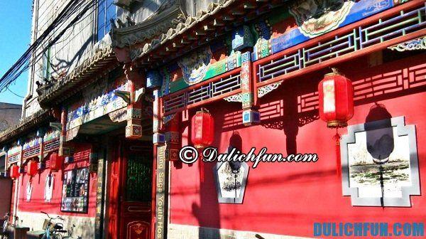 Khách sạn giá rẻ tốt nhất Bắc Kinh. Nơi lưu trú tại Bắc Kinh