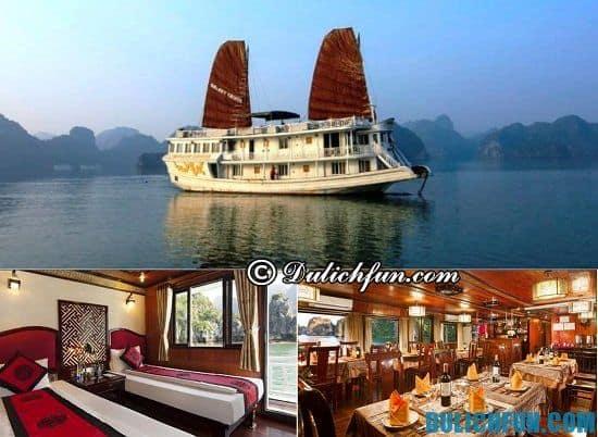 Khách sạn trên du thuyền ở Tuần Châu sạch sẽ, đồ ăn ngon: Tư vấn khách sạn nghỉ dưỡng lý tưởng ở Tuần Châu