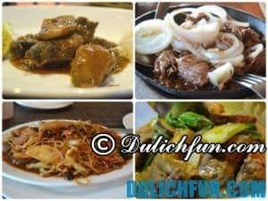 Những món ăn ngon, ẩm thực Philippines nổi tiếng, đặc trưng