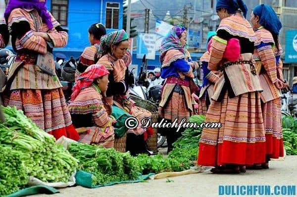 Những khu chợ nổi tiếng ở Sapa. Du lịch Sapa nên đi chợ nào?