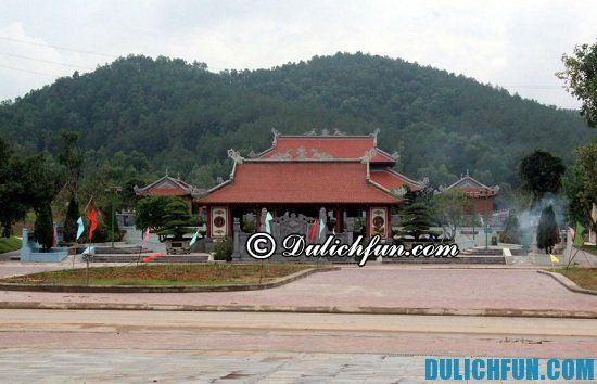 Khu du lịch ở Nghệ An nổi tiếng hấp dẫn nhất: Địa điểm tham quan di tích lịch sử ở Nghệ An