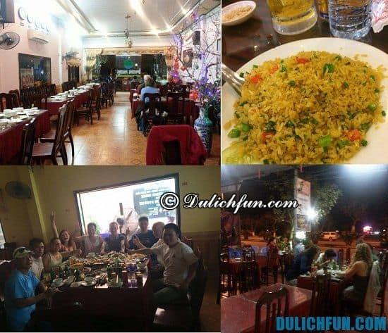 Kinh nghiệm ăn uống khi đi du lịch Cát Bà: địa chỉ nhà hàng, quán ăn ngon nổi tiếng ở Cát Bà