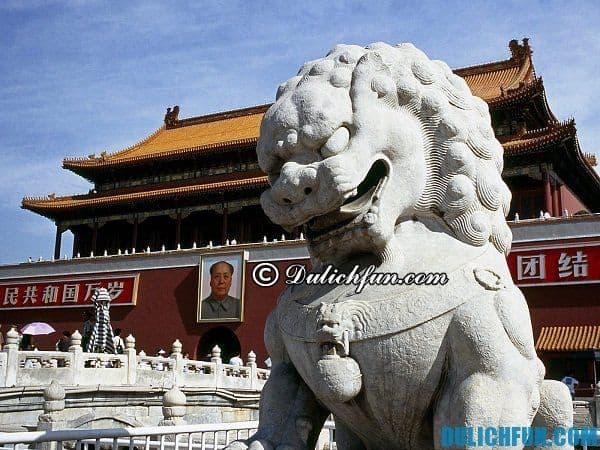 Kinh nghiệm du lịch Bắc Kinh tự túc tiết kiệm