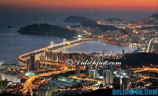 Cẩm nang kinh nghiệm du lịch Busan, Hàn Quốc đầy đủ, chi tiết nhất