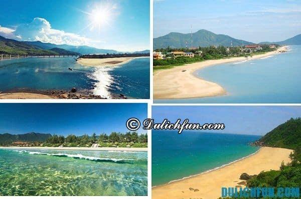 Kinh nghiệm du lịch Lăng Cô tự túc, tiết kiệm. Biển Lăng Cô đẹp và hấp dẫn du khách bởi nước biển trong, mát, không khí trong lành