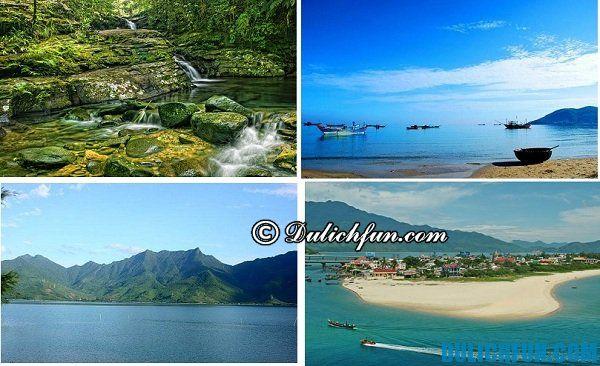 Kinh nghiệm du lịch Lăng Cô thú vị kì thú. Ngoài ra bạn có thể tham quan các địa điểm du lịch khác như vườn quốc gia Bạch Mã, đầm Lập An, đèo Hải Vân