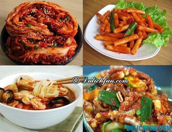 Kinh nghiệm du lịch Hàn Quốc - những món ăn đường phố ngon nổi tiếng