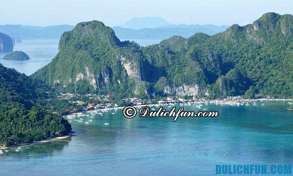 Kinh nghiệm du lịch El Nido Philippines, tư vấn kinh nghiệm El Nido Philippines
