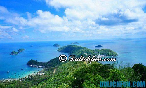 Tổng hợp kinh nghiệm du lịch đảo Nam Du: địa điểm du lịch đẹp ở đảo Nam Du