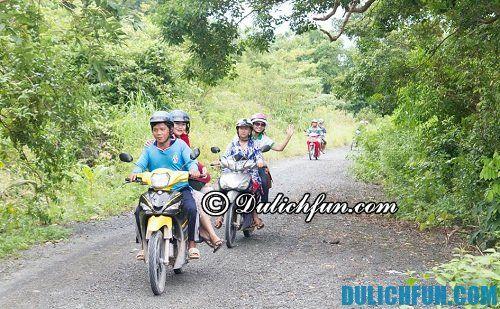 Cách di chuyển trên đảo Nam Du. Chia sẻ kinh nghiệm du lịch trên đảo Nam Du