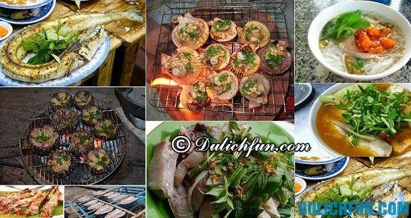 Khám phá những món ăn ngon, đặc sản trên đảo Nam Du. Kinh nghiệm du lịch đảo Nam Du tự túc, giá rẻ