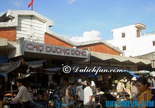 Kinh nghiệm du lịch đảo phú quốc, địa điểm mua sắm ở đảo phú quốc