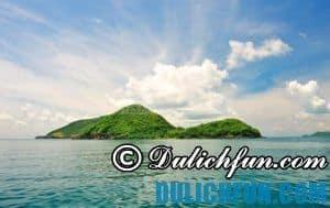 Kinh nghiệm du lịch quần đảo Bà Lụa an toàn, sạch đẹp