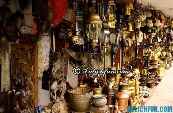 Mua sắm đồ lưu niệm ở Indonesia. Kinh nghiệm mua sắm khi du lịch Indonesia