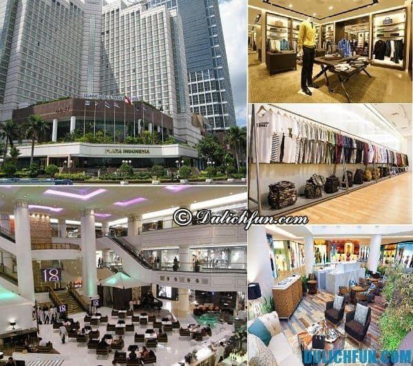 Hướng dẫn mua sắm khi du lịch Indonesia. Nơi mua sắm nổi tiếng ở Indonesia