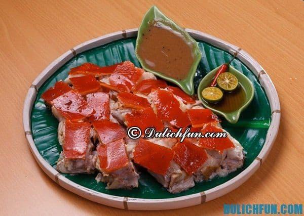 Lechon đặc sản ở Philippines, đặc sản ở Philippines hấp dẫn, say đắm lòng người