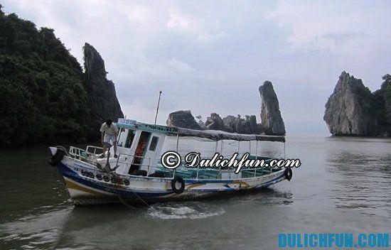 Lịch trình chạy tàu du lịch quần đảo Bà Lụa mới nhất: phương tiện du lịch quần đảo Bà Lụa