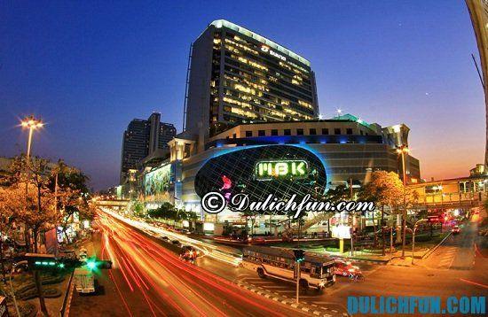 Đi đâu mua sắm khi du lịch Thái Lan? Điểm tên những địa điểm mua sắm tốt nhất Bangkok.
