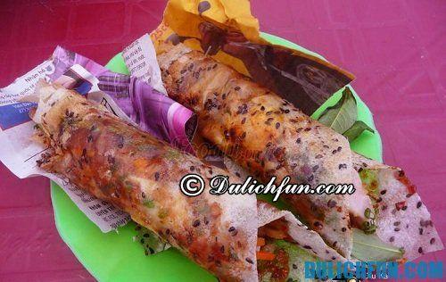 Bánh tráng cuốn dẻo - Những món ăn đặc sản ở Mũi Né: Món ngon nổi tiếng ở Mũi Né