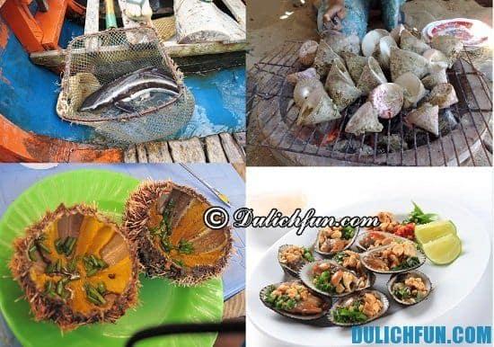 Món ăn ngon nên thử khi đi du lịch quần đảo Bà Lụa: đặc sản ở quần đảo Bà Lụa