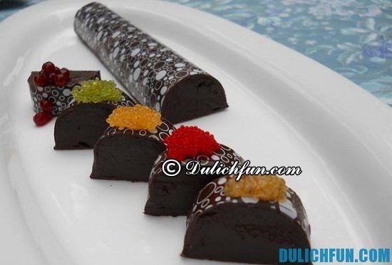 Socola tỏi đen, món ăn ngon, nổi tiếng ở Ma Cao. Những món ăn ngon, đặc sản nổi tiếng ở Ma Cao nhất định phải thử