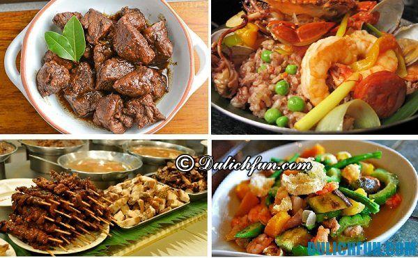 Món ăn ngon, đặc sản ở Boracay, Philippines. Kinh nghiệm du lịch Boracay thuận lợi, an toàn, tiết kiệm