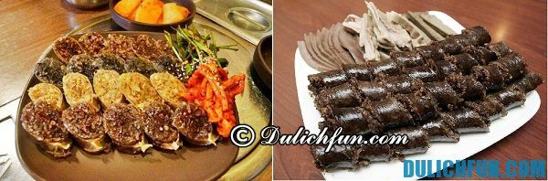Món ăn vặt được ưa chuộng Hàn Quốc