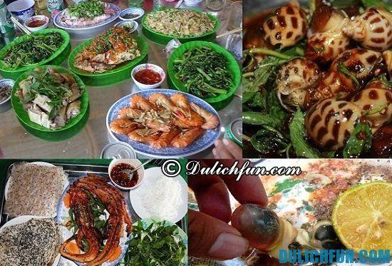 Kinh nghiệm ăn uống khi du lịch đảo Cồn Cỏ: Món ngon hấp dẫn nên ăn khi đi du lịch đảo Cồn Cỏ: đặc sản, ẩm thực nổi tiếng ở đảo Cồn Cỏ