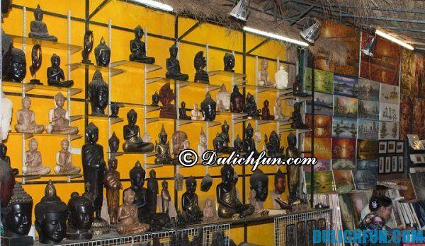 Hướng dẫn mua sắm đồ lưu niệm ở Campuchia. Nên mua gì khi đi du lịch Campuchia?