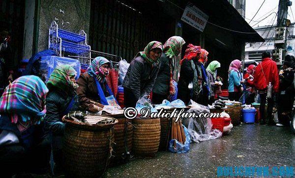Những khu chợ ở Sapa sầm uất, đông vui