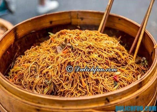 Ẩm thực Thượng Hải. Những món ăn ngon ở Thượng Hải. Ăn gì khi du lịch Thượng Hải?