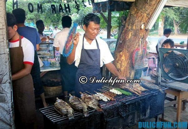 Ẩm thực Myanmar. Nhà hàng, quán ăn ở Bagan, Myanmar. Địa chỉ ăn uống đặc sản độc đáo ở Bagan, Myanmar