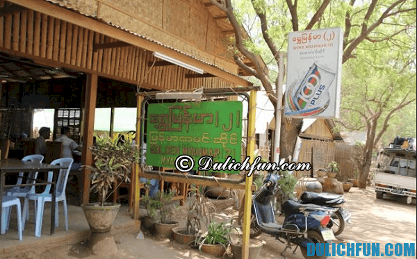 Du lịch Bagan, Myanmar nên ăn gì, ăn ở đâu. Địa chỉ nhà hàng, quán ăn ngon, đông khách ở Bagan, Myanmar