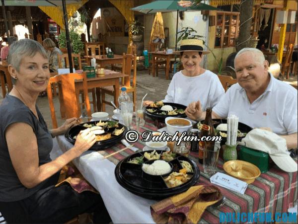 Nhà hàng, quán ăn ở Bagan, Myanmar ngon, rẻ, chất lượng
