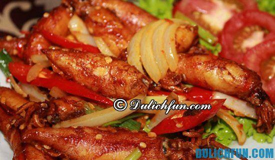 Nhà hàng quán ăn ngon đặc sản ở Sầm Sơn giá bình dân