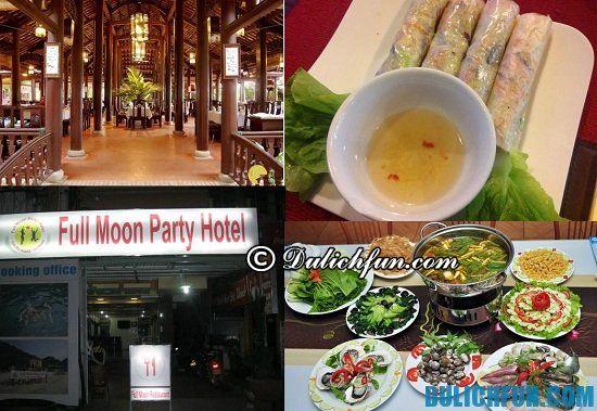 Nhà hàng quán ăn ngon nổi tiếng ở Cát Bà: tư vấn địa chỉ ăn uống giá rẻ ở Cát Bà