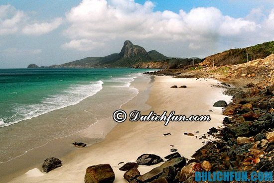 Những bãi biển đẹp của thiên đường du lịch Côn Đảo