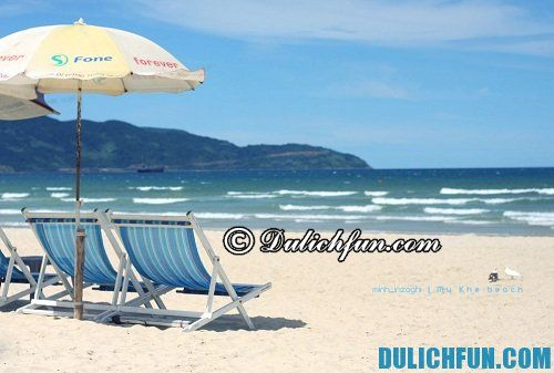 Mỹ khê, điểm du lịch biển thu hút nhiều khách nước ngoài nhất. Một sỗ bãi biển đẹp nhất việt nam