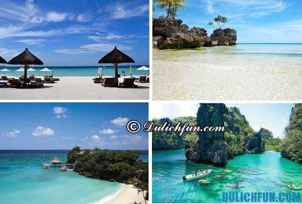 Kinh nghiệm du lịch đảo Boracay. Phượt bụi Boracay, những địa điểm du lịch đẹp, hấp dẫn ở Boracay Philippines