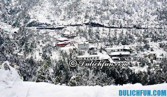 Khám phá những địa điểm ngắm tuyết rơi đẹp nhất ở việt nam. Những điểm xuất hiện tuyết rơi ở việt nam