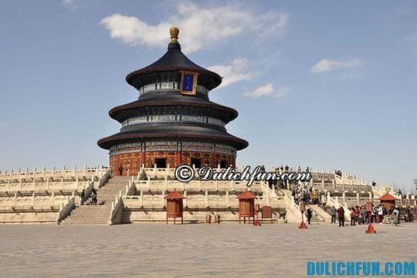Điểm đến hấp dẫn du khách ở Bắc Kinh. Du lịch Bắc Kinh