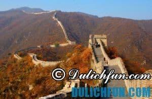 Những điểm du lịch ở Bắc Kinh Trung Quốc đẹp, hấp dẫn