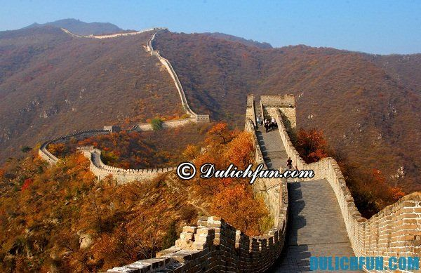 Địa điểm du lịch nổi tiếng ở Bắc Kinh