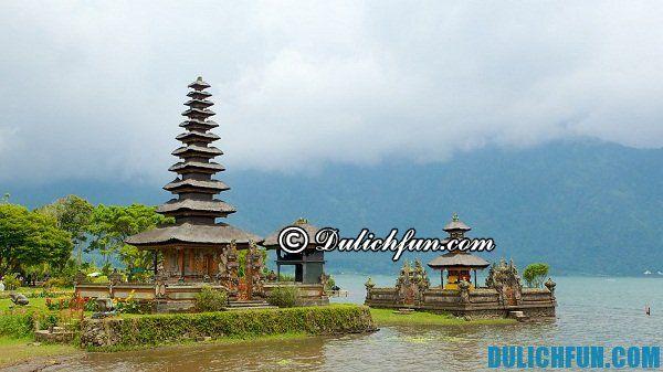 Những điểm tham quan du lịch đẹp ở Bali. Nơi chụp ảnh đẹp nhất ở Bali