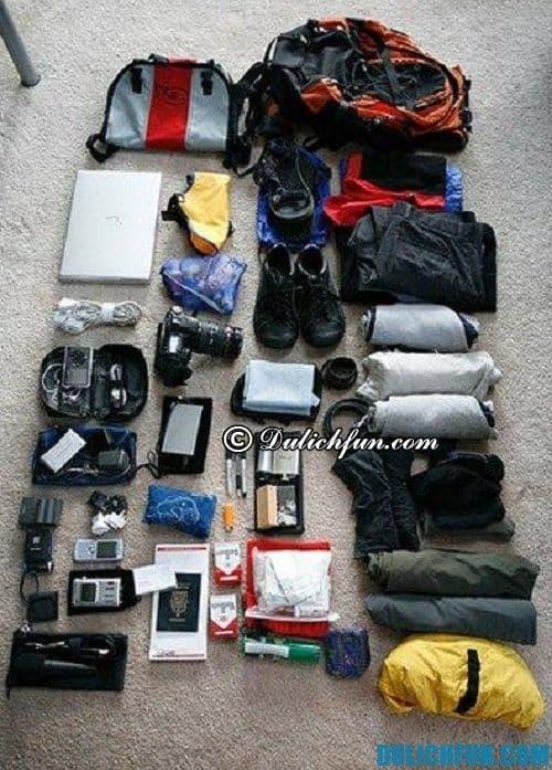Kinh nghiệm leo núi Phú Sĩ, Nhật Bản - Những vật dụng cần mang theo