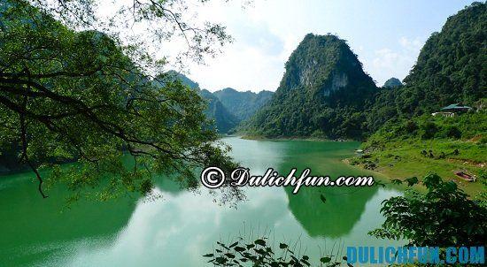 Nơi du lịch vui chơi nổi tiếng ở Cao Bằng: địa điểm nghỉ dưỡng, chụp ảnh đẹp ở Cao Bằng