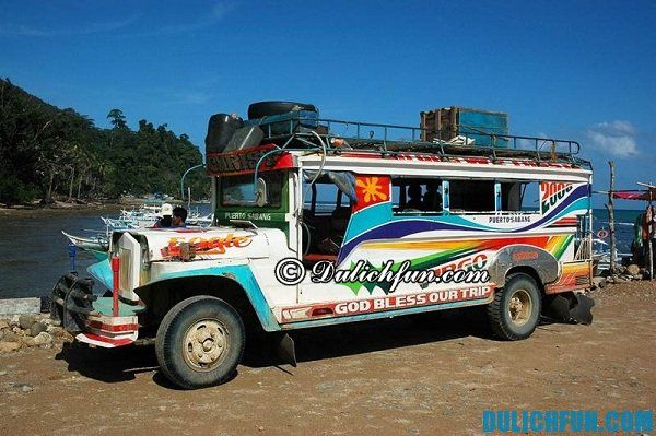 Phương tiện di chuyển ở Cebu. Hướng dẫn và kinh nghiệm du lịch Cebu, Philippines đầy đủ, chi tiết nhất